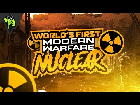 WORLDS FIRST MODERN WARFARE NUCLEAR!! MY FIRST GAME ON THE BETA! (COD: MW)