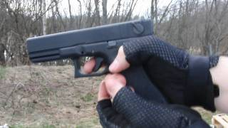 KWA Glock 18C Unboxing + Full Auto Shooting + Real Slow Motion *Airsoft*