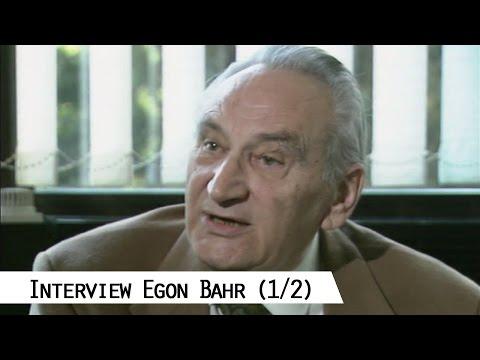 Interview mit Egon Bahr über die Nachkriegszeit 1945 - 1949 (1/2)