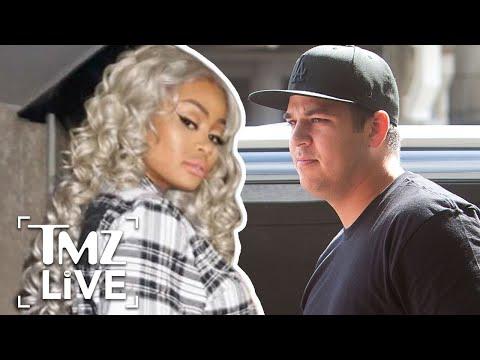 Rob Kardashian Vs. Blac Chyna: Drugs & Strippers | TMZ Live