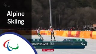 Super Combined | Slalom | Alpine Skiing | PyeongChang2018 Paralympic Winter Games