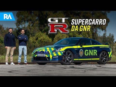 Nissan GT-R da GNR. O SUPERCARRO que ajuda a salvar vidas
