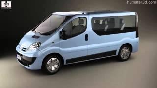 Nissan Primastar Passenger Van 2006 by 3D model store Humster3D.com