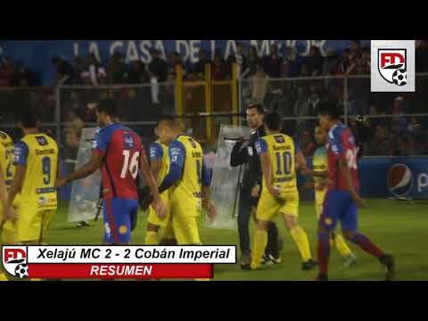 Xelajú MC 2 - 2  Cobán | Global 3 - 3 , Clasifica Cobán. - Resumen