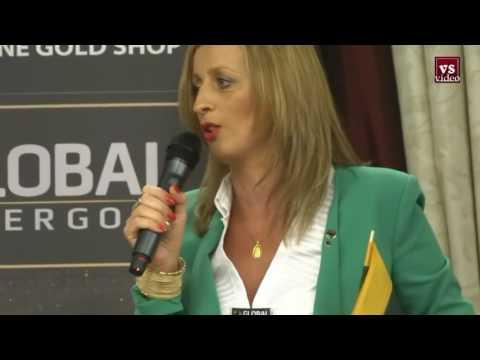 GLOBAL InterGOLD Konferencija Kalba Lietuvaitė Lyderė iš Italijos INGA MASCIA