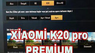 XİAOMİ K20 PRO PREMİUM 12/512 PUBG MOBİLE TEST