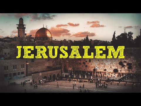 JERUSALEM | THE OLD CITY - 7 DAYS IN ISRAEL in 4K - [PART 1]