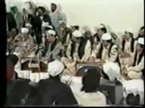 Nusrat Fateh Ali Khan performing at...