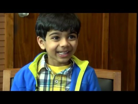 Akash the 6 Year Old Super Speller
