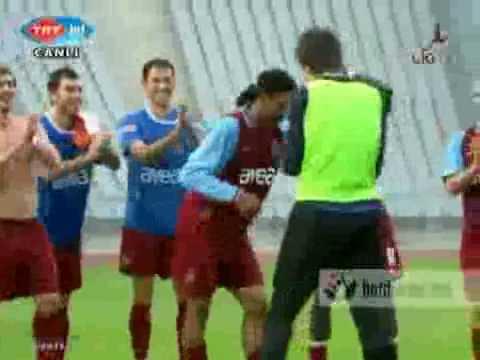 Rigobert Song in Kolbasti dance TS the best team