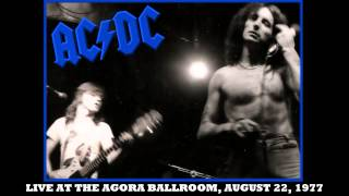 AC/DC Baby Please Don't Go LIVE: At The Agora Ballroom August 22, 1977 HD