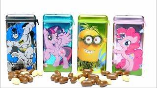 Candy Drops - Minions Batman and My little Pony