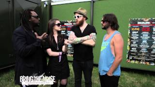 Bring The Noise UK - Skindred Interviewed at Download Festival 2011