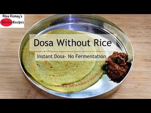 Gluten Free Instant Quinoa Dosa Recipe - Healthy Quinoa Recipes - Skinny Recipes To Lose Weight Fast