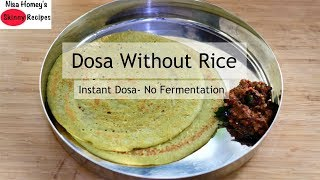 Gluten Free Instant Quinoa Dosa Recipe - Healthy Quinoa Recipes - Skinny Recipes To Lose Weight Fast