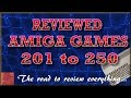 Reviewed AMIGA games 201-250 - njenkin Gaming Channel