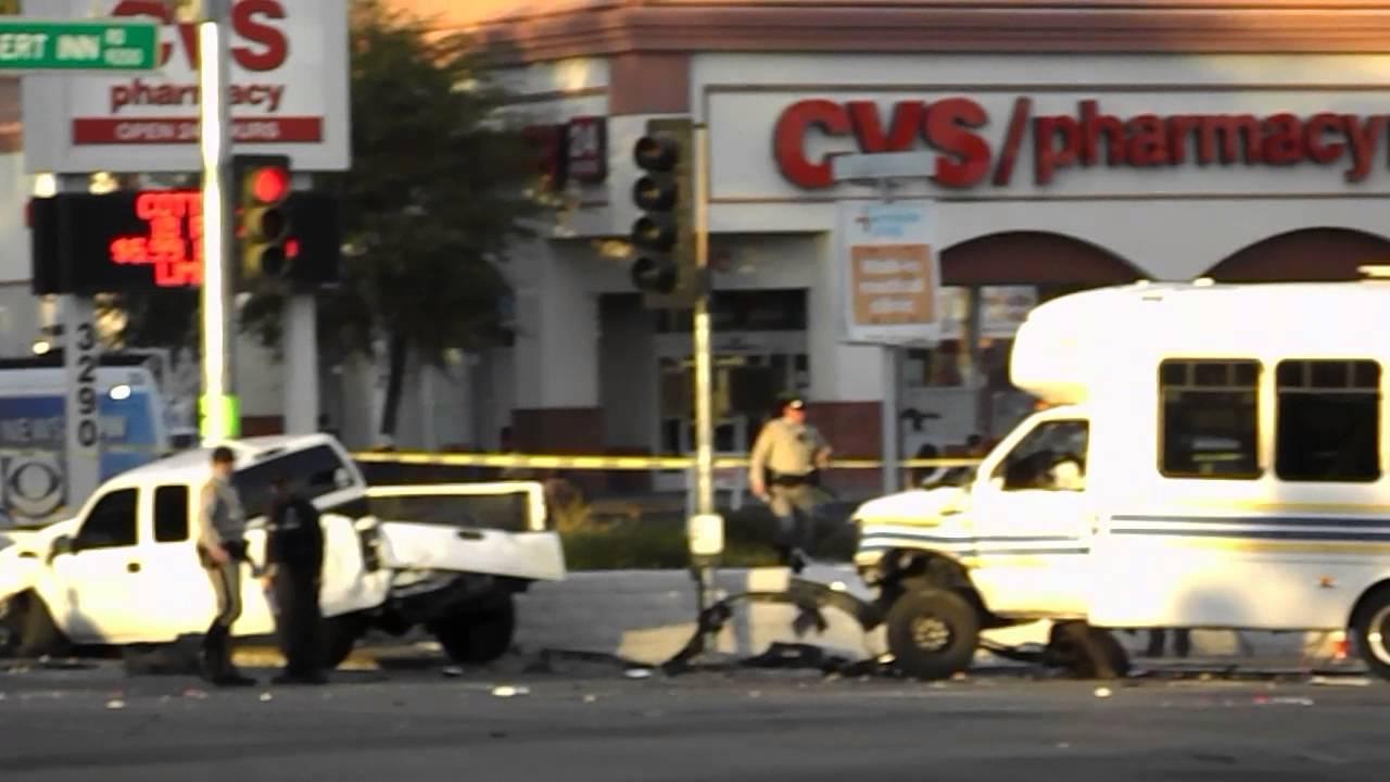 fatal accident las vegas, desert inn & fort apache