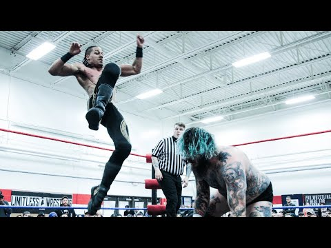 "Brody King vs. Christian Casanova - Limitless Wrestling ""Only Fools Are Satisfied"" (PWG)"