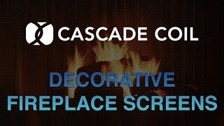 Cascade Home Décor Decorative Fireplace Screens