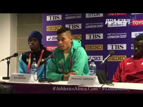 """""""A heart-breaking moment"""", World Champion Wayde van Niekerk on Isaac Makwala - London 2017 IAAF WCH"""