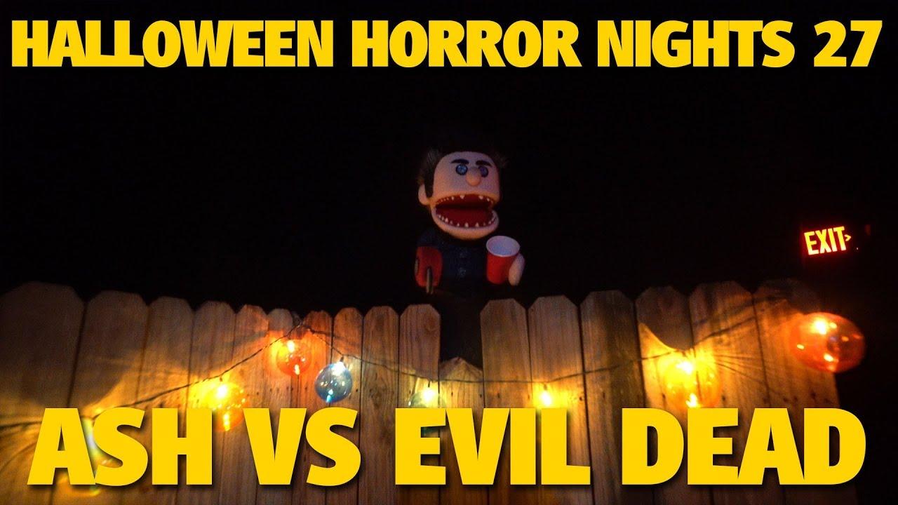 Ash vs Evil Dead Maze Highlights | Halloween Horror Nights 27
