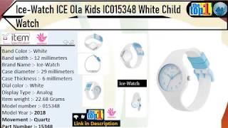 Ice-Watch ICE Ola Kids White Child Watches