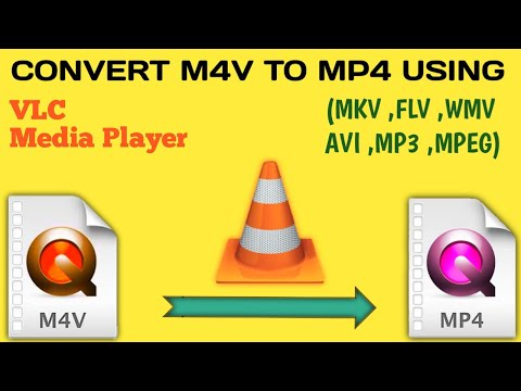How To Convert Video Files| How To Convert M4V to MP4 |How To Convert Video Format Using VLC (Hindi)