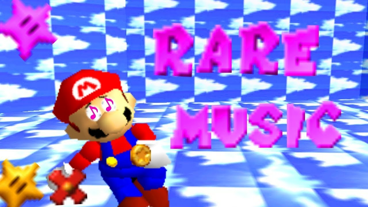 Super Mario 64 With no Music Background and I Put A New Funny Things