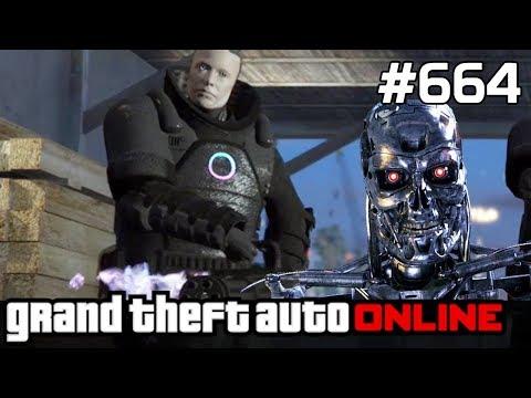 GTA 5 PC Online Po Polsku [#664] HEIST Koszmar, czyli TERMINATOR Atakuje /z Mardey