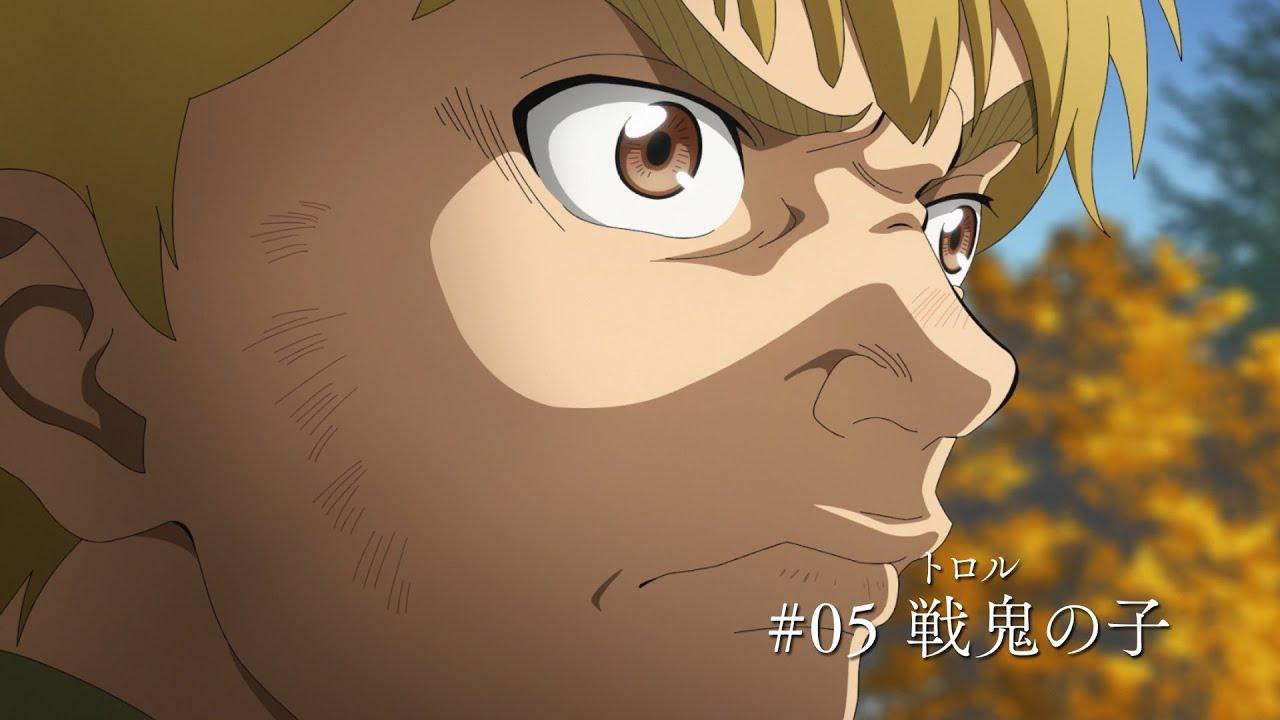 「ヴィンランドサガ 5話」の画像検索結果
