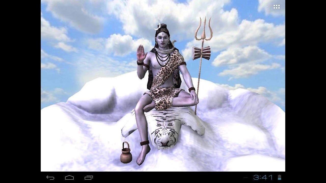 Lord Shiva Wallpapers 3d: Shiv : Free Animated 3D Mobile App, Live Wallpaper