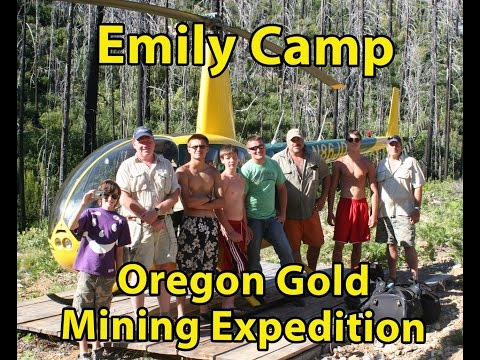 Emily Camp Helicopter Gold Mining Expedition