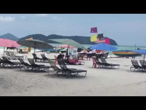 Beautiful beach. Langkawi Island, Malaysia. (Travel)