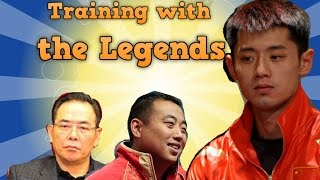 Table Tennis Training China with the Legends   Cai Zhenhua (蔡振华)