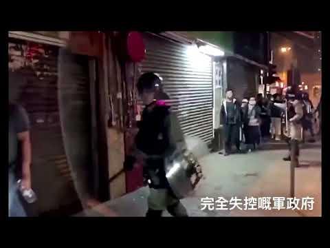香港成人间地狱!港警疯癫视频流出 3个月多死345人+ 他预言应验!