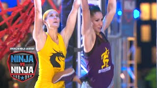 Sarah Schoback Vs. Maggi Thorne (S1 E7) | American Ninja Warrior: Ninja Vs. Ninja
