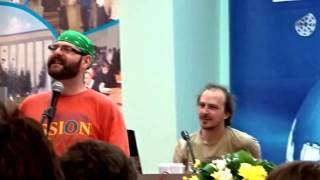 Поэтический вечер на ''Сибирской книге-2015''. Виталий Красный