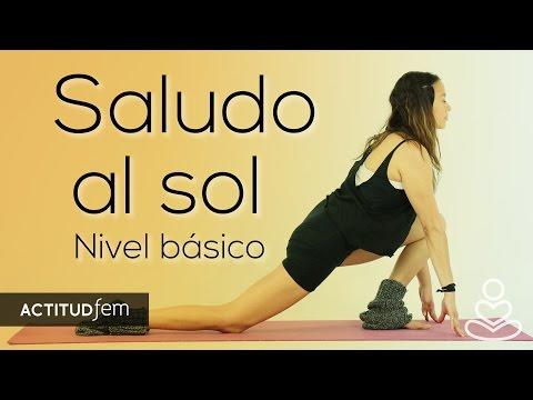 Saludo al sol paso a paso (Nivel básico) | Be yoga