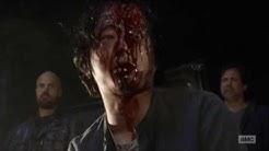 Negan kills Abraham and Glenn (The Walking Dead Season 7 Episode 1)