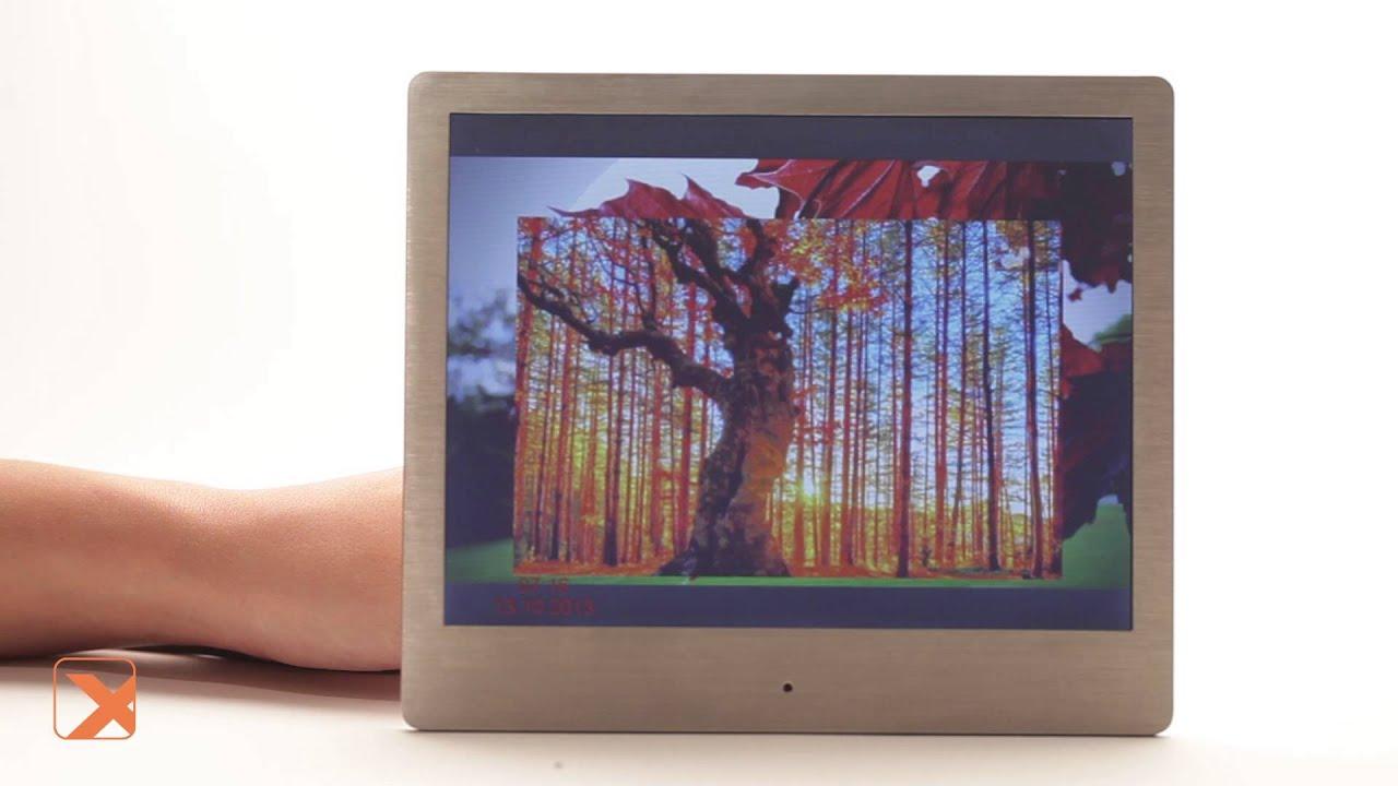 Sony dpf-hd1000 цифровая фоторамка, большой широкоформатный дисплей (10. 10), разрешение 1024x600, 2 гб встроенной памяти, соединение с.