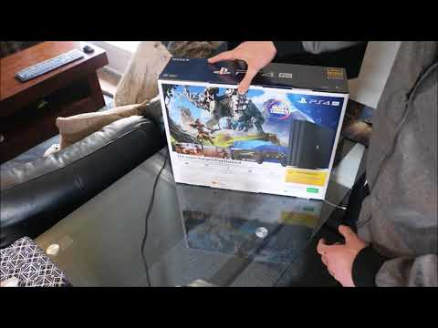 Welcome, introduction, PS4 Pro Unboxing, PS4 disc eject issue..... Games obviously!!!