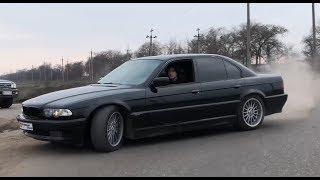 Тебе не нужна такая машина, Брат! BMW e38 740i, заезды на драге, слили пассату 2.0!