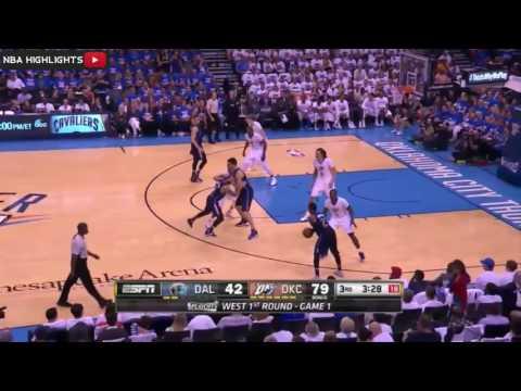 Dallas Mavericks vs Oklahoma City Thunder   Game 1   Full Game Highlights   April 16, 2016   NBA