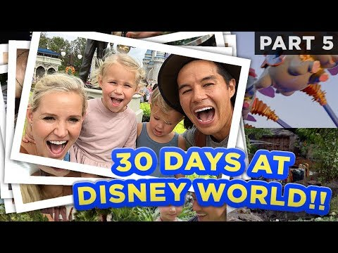This Family Stayed at a Different Disney Resort Every Day for 30 Days
