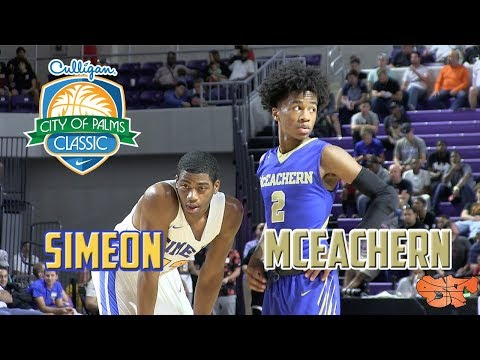 ATLANTA vs. CHICAGO at CITY OF PALMS | MCEACHERN vs. SIMEON HIGHLIGHTS