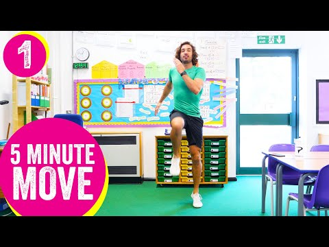 5 Minute Move | Kids Workout 1 | The Body Coach TV