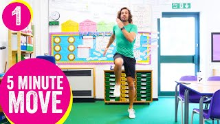 5 Minute Move   Kids Workout 1   The Body Coach TV