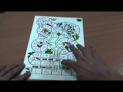 Educational Games - Snakes And Ladders With Dolch Sight Words