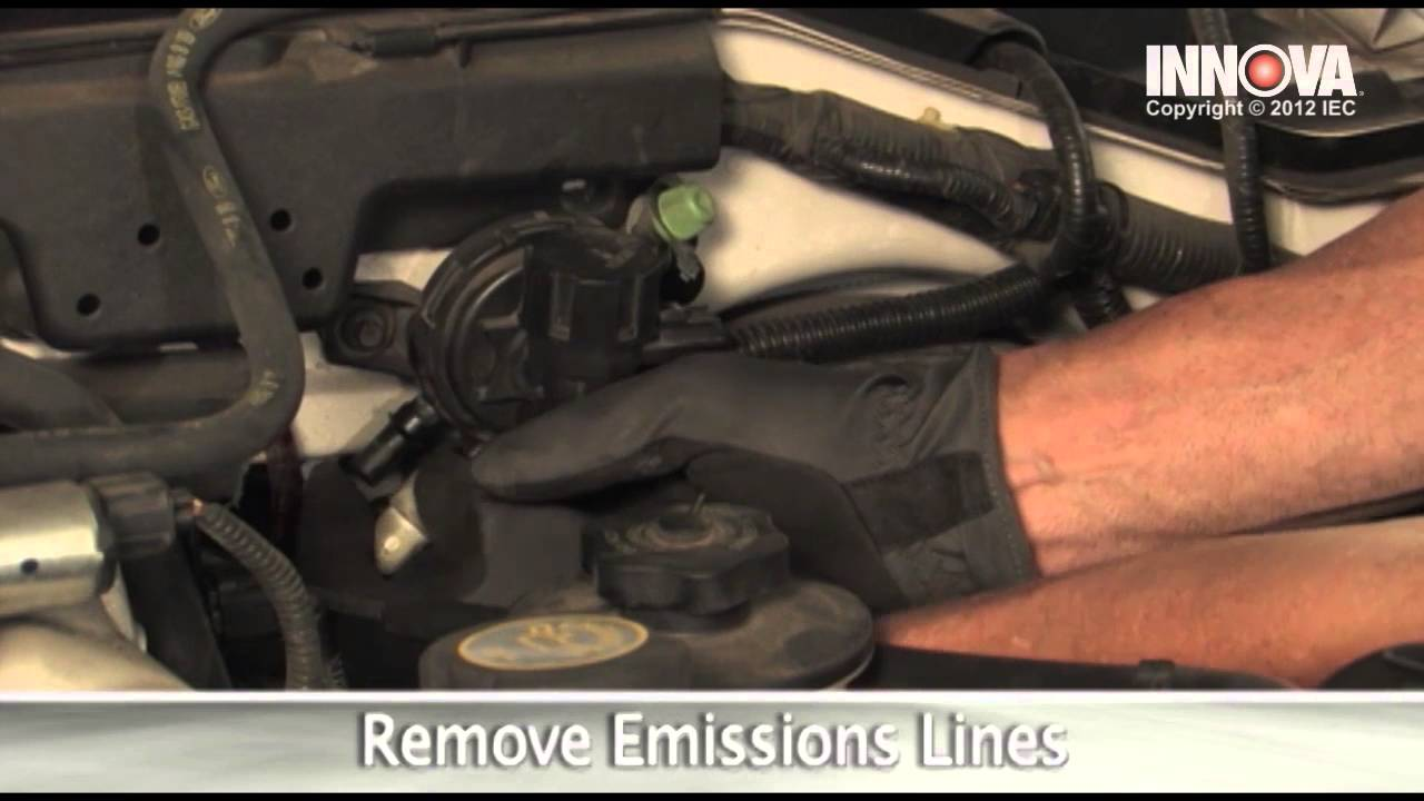 how to change evap canister purge valve 1999 lincoln navigator youtube [ 1280 x 720 Pixel ]