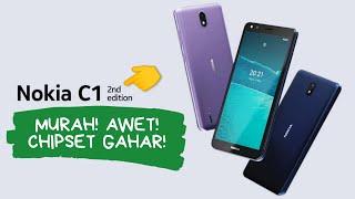 Harga Dan Spesifikasi Nokia C1 2nd Edition, Hp Android Go Murah!